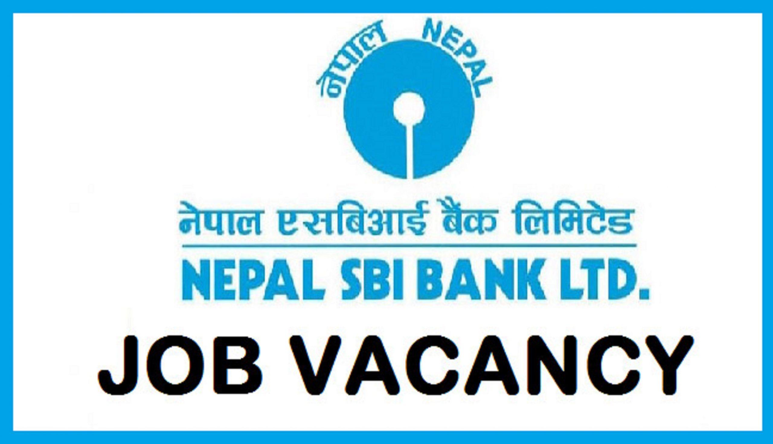 Nepal SBI Bank Job Vacancy